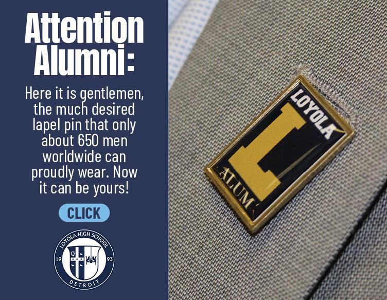 Loyola Alumni Pin